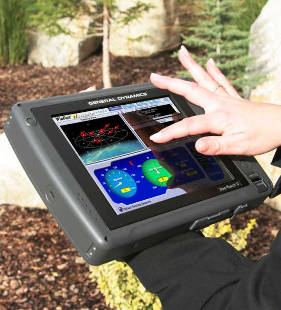 General Dynamics Itronix Duo-Touch II Tablet PC