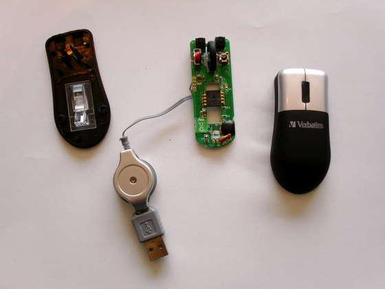 Мышка компьютерная своими руками