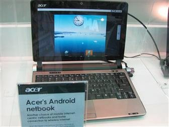 Acer's Android netbook