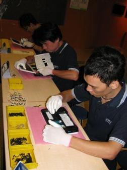 DMP Edubook netbook assembly line