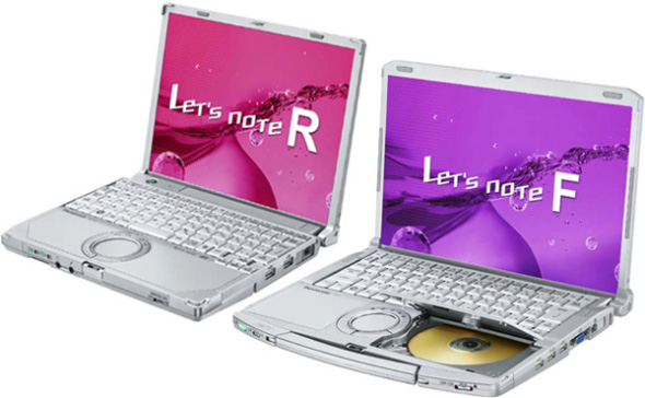 Panasonic Let's Note R, F